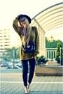 Zara-jeans-zara-hat-zara-sweater-new-look-bag-h-m-flats