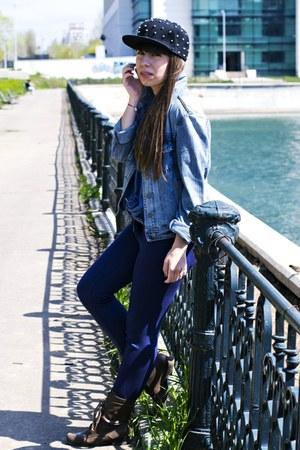 Bershka boots - Zara leggings