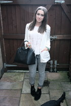 Givenchy bag - Office shoes - H&M jeans - H&M blazer - H&M top