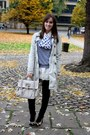 Eggshell-new-look-coat-beige-vintage-shirt-heather-gray-american-apparel-jum