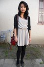 F21-dress-target-cardigan-dollhouse-flats-the-sak-purse