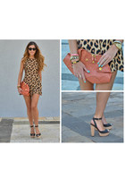 Zara sandals - Alexander McQueen bag - Celine sunglasses - Motel Rocks bodysuit