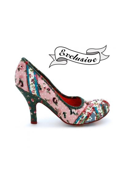 pink Irregular Choice London shoes