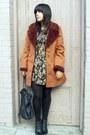 Black-vintage-dress-dark-brown-vintage-jacket-black-vintage-accessories-bl