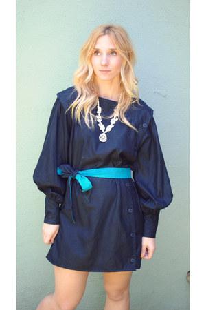Black vintage dress dress