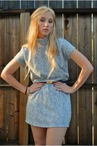 White-vintage-dress-black-vintage-belt