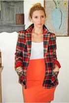 Red-vintage-wool-blazer