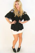 Black-sequin-vintage-laurence-kazar-top-top-white-h-m-skirt-black-bcbg-shoes