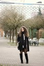 Black-knee-high-forever-21-boots-black-ovs-industry-coat-ivory-h-m-sweater