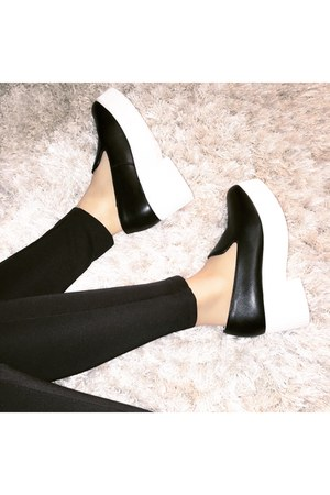 platforms shellys london shoes