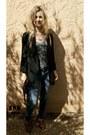 Skinny-jeans-zara-jeans-topshop-blazer-the-lost-travel-tshirt-company-vest