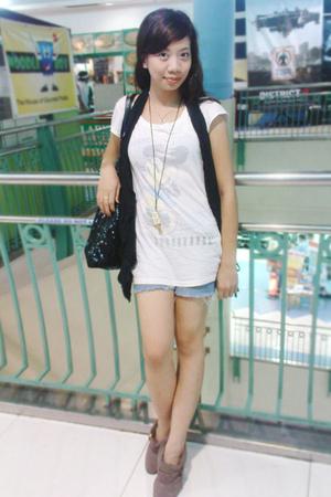 blouse - jeans - vest - shoes
