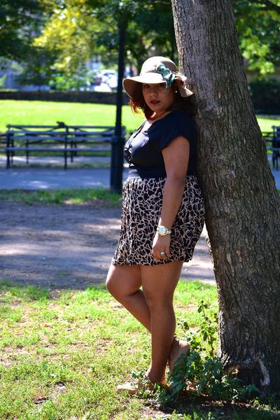 Marshalls hat - Skechers shoes - Dijon Boutique dress - Michael Kors watch