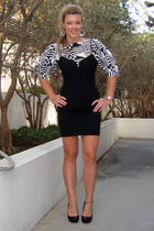 intage Andrea Polizzi for Rex Lester dress - vintage saks fifth ave blouse - cal