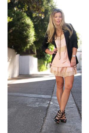 vintage blazer - vintage dress - Boutique 9 shoes