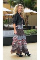 black Bebe dress - black zipper booties Jessica Simpson boots