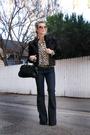 Brown-vintage-fur-coat-jacket-blue-j-brand-lovestory-jeans-brown-vintage-blo