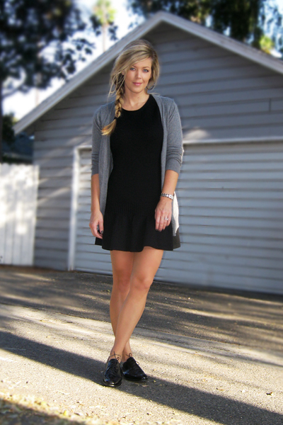 Topshop shoes - IISLI from giltcom dress - Heritage 1981 Forever 21 sweater - vi