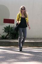 gold vintage blazer blazer
