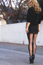 Givenchy tights - Velvet Angels shoes - BB Dakota -chicdowntown skirt - Perry El