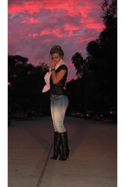 victorias secret tops dolce vita boots j brand jeans diy i made it scarves la sunsets by. Black Bedroom Furniture Sets. Home Design Ideas