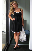 forever 21 dress - Jessica Simpson shoes - forever 21 blazer