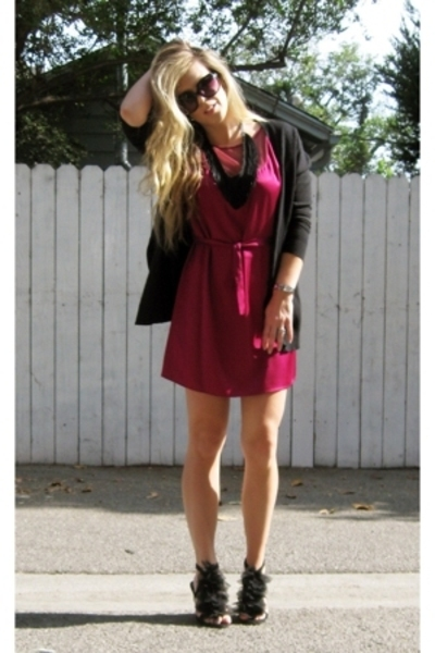 12th Street by Cynthia Vincent dress - Victorias Secret sweater - I MADE IT acce