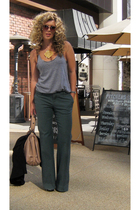 American Apparel t-shirt - Gap pants - Zac Posen purse