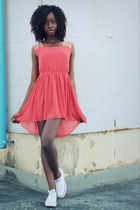 burnt orange Lovestruck dress