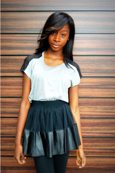 black Lovestruck skirt