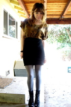 Jeffrey Campbell shoes - skirt