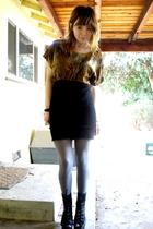 Jeffrey Campbell shoes - skirt