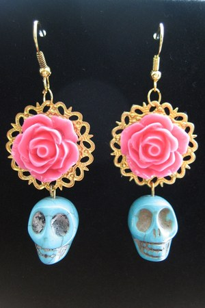 Skelapparel earrings