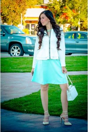 blackfive jacket - Charlotte Russe skirt - AmiClubWear heels