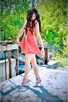Wal G dress - Payless heels