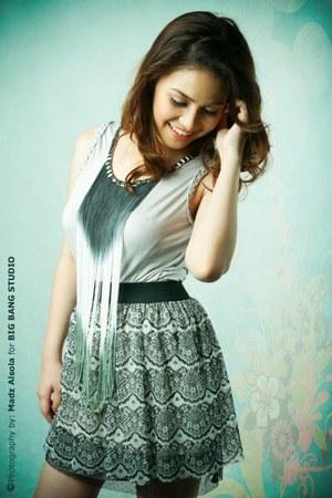 gray dress Love Jane Clothing dress - lace skirt Love Jane Clothing skirt