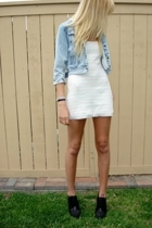 vintage dress - vintage jacket - Forever21 shoes