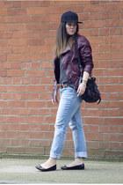 H&M hat - H&M jacket - PROENZA SCHOULER bag - Prada flats