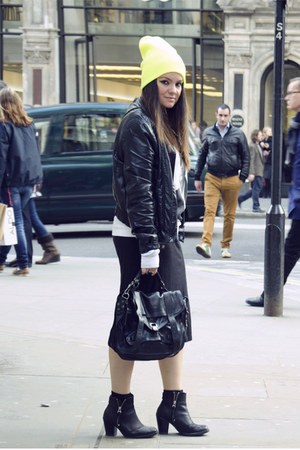 Topshop boots - Zara jacket - PROENZA SCHOULER bag