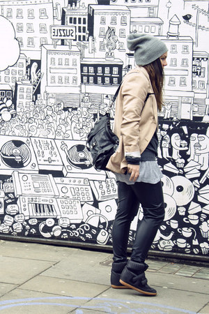 COS blazer - PROENZA SCHOULER bag - Bershka wedges
