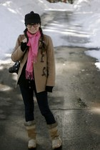7 for all mankind jeans - Burberry hat - Halogen jacket - cashmere Elizabeth and