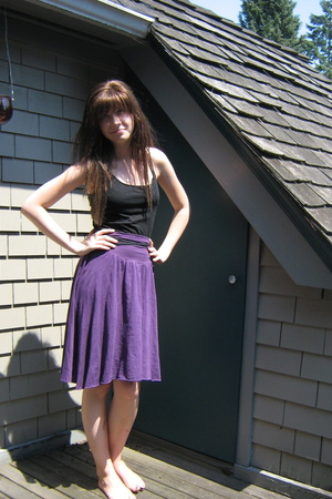 American Apparel top - American Apparel skirt