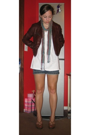 H&M jacket - Hanes shirt - Target shoes - Gap shorts