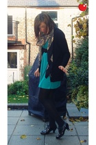 Pull and Bear dress - Miss Selfridge jacket - H&M scarf - Graceland shoes - Zara
