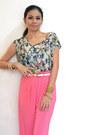 Bubble-gum-palazzo-pants-pants-aquamarine-blouse