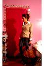 Fornarina-skirt-h-m-sweater