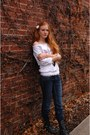 Heather-gray-g-by-guess-boots-white-claires-accessories
