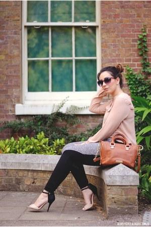 Steve Madden bag - cichic pants - Anne Michelle heels - luis blouse