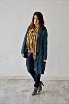 clockhouse cardigan - Marypaz boots - clockhouse jeans