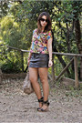 Camaeu-bag-sfera-wedges-pull-bear-skirt-h-m-top